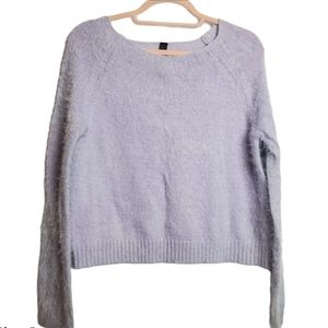 Dream of Me Fuzzy Sweater in Lavender